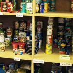 Child poverty and coronavirus cause surge in food bank demand