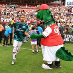 Sight for 'saur' eyes as Arsenal mascot Gunnersaurus sacked