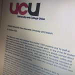 University claim no evidence for on-campus transmission following UCU criticism