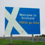 Travelling across the Scottish Border is now illegal