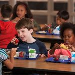 Businesses providing free school meals in the North East