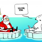It's not looking good for Santa: Arctic melt at almost all-time high at the end of summer 2020