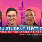 2021 NUSU Elections debates: Editor of the Courier