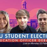 2021 NUSU Elections debates: Education Officer