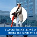 Newcastle E-scooter launch threatened by dangerous behaviour