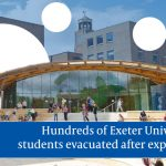 WWII bomb explosion leaves Exeter University students without home