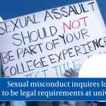 """Universities's sexual assault reporting labelled """"waste of time"""""""